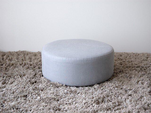 Circle Cushion(gray)の画像1枚目