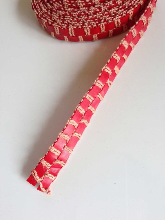 Chiaki交織リボン(幅15mm x長2.5m)の画像1枚目