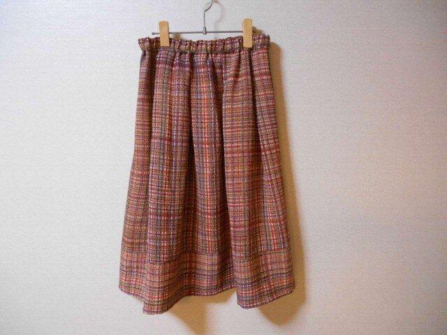 鬼しぼちりめんのスカートの画像1枚目