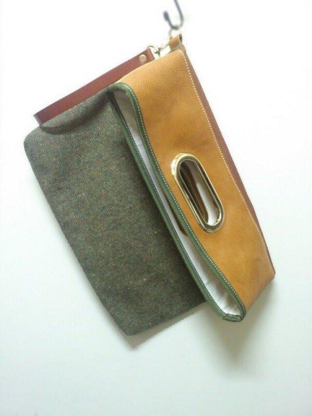 [STOCK SALE]Magazine Book Clutchの画像1枚目
