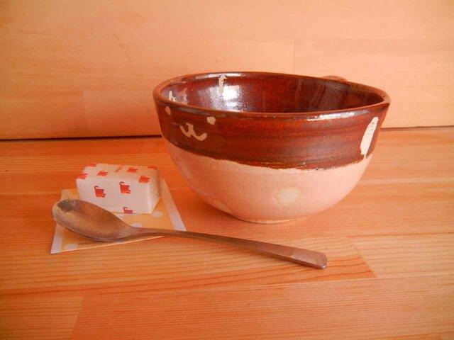 陶器こっそり猫のゆったりカップの画像1枚目