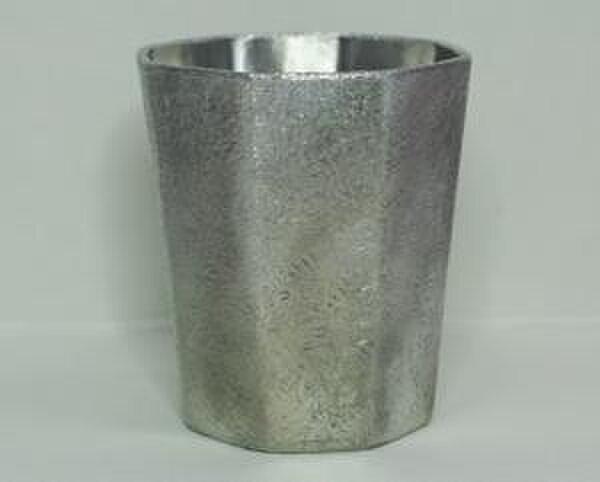 錫製 タンブラー(八面)の画像1枚目