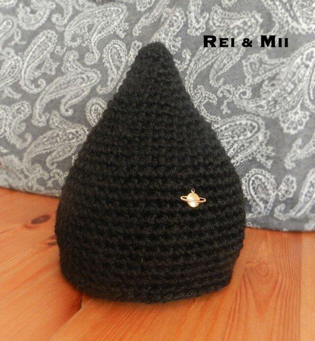 とんがり帽子 丈夫で扱いやすい素材 サイズ約50cmの画像1枚目