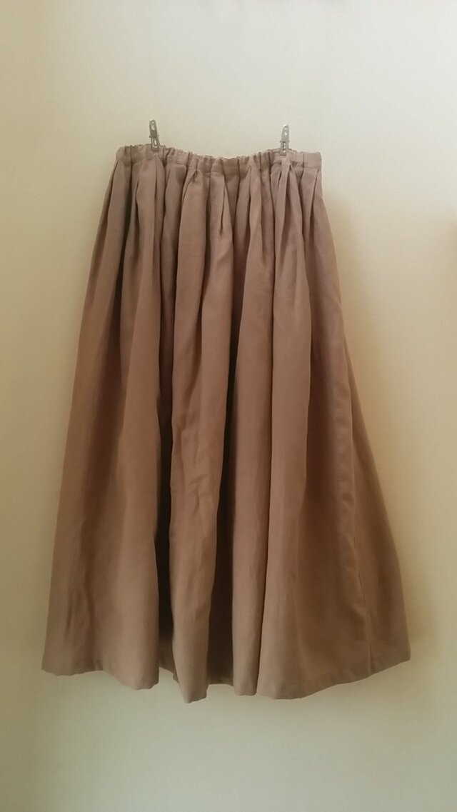 sakuraさまご注文分 草木染めスカートの画像1枚目
