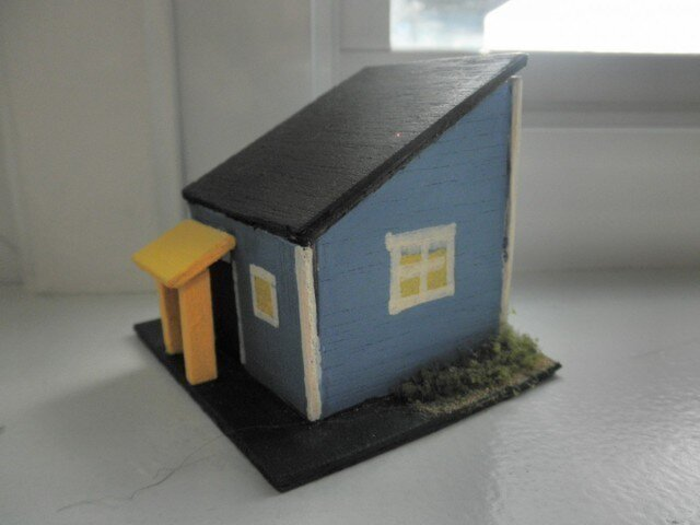 home on the range  青い小さな家の画像1枚目