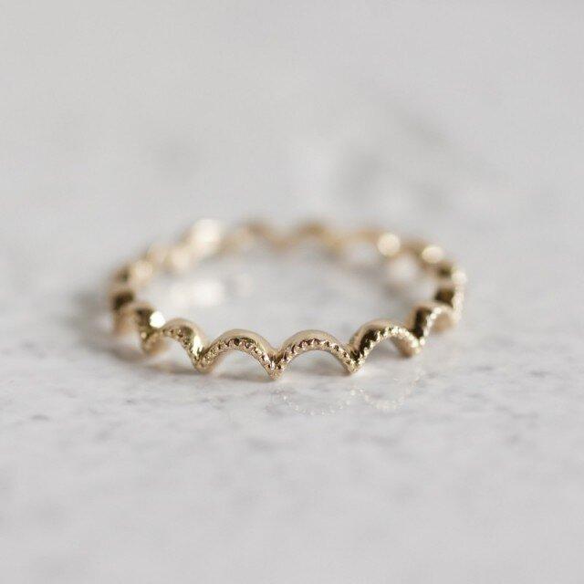 K18 Arch ring {R042K18}の画像1枚目