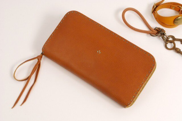 【受注製作】財布 rzw [ブラウン]の画像1枚目