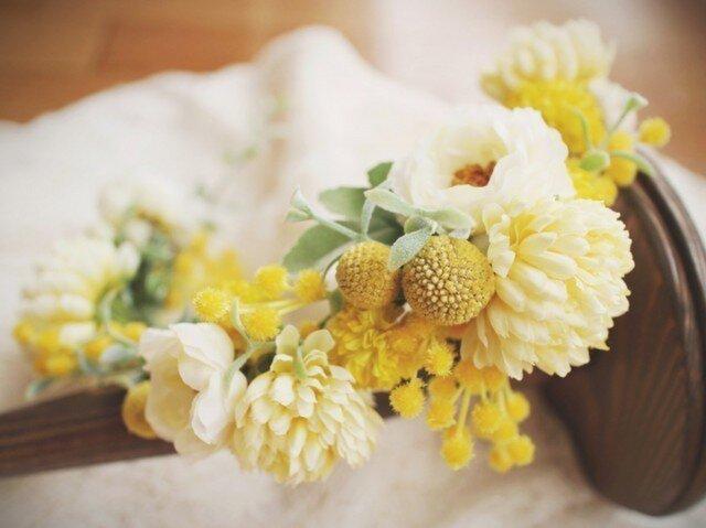 order asymmetry flower crownの画像1枚目