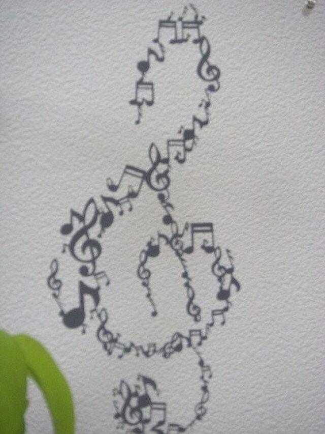 切り絵:音符DE音符 2の画像1枚目