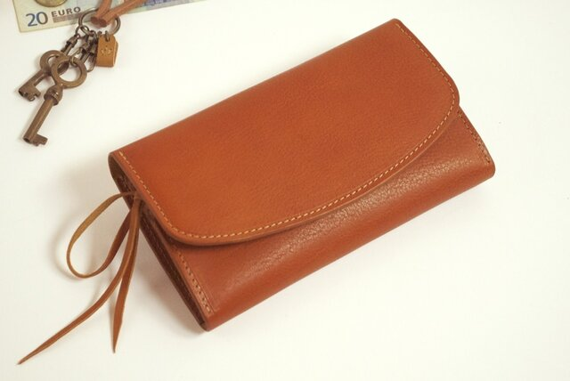 財布 wrap-L (HL) [ブラウン]の画像1枚目