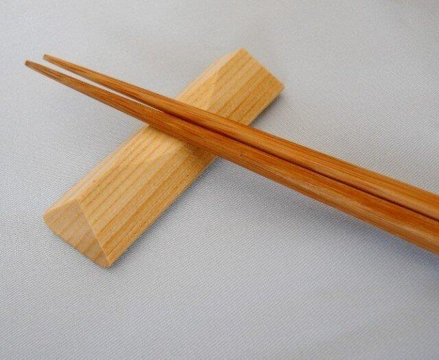 箸置き(栓材) 3個セットの画像1枚目