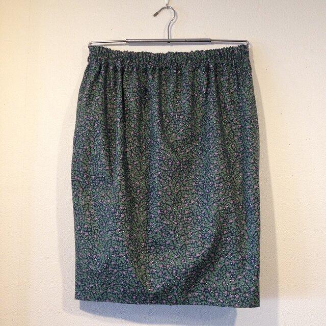 グリーンのチューリップスカート(11~13号)の画像1枚目