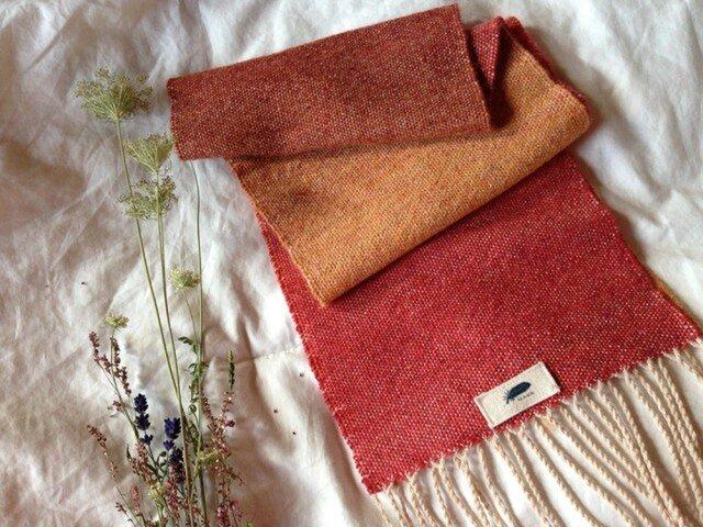 手織り リトアニアウールの画像1枚目