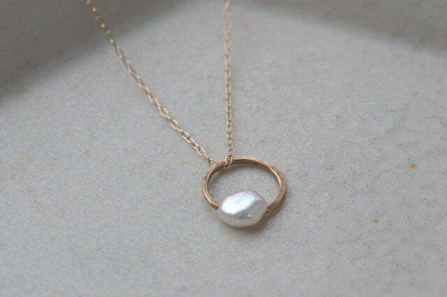 ibitsu  Pendant (K10/pearl)の画像1枚目