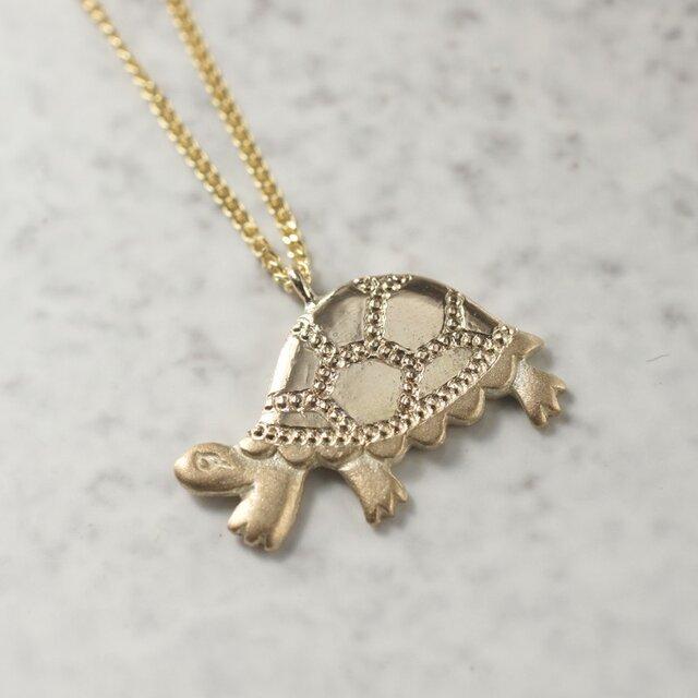 Turtle pendant{P025K10}の画像1枚目