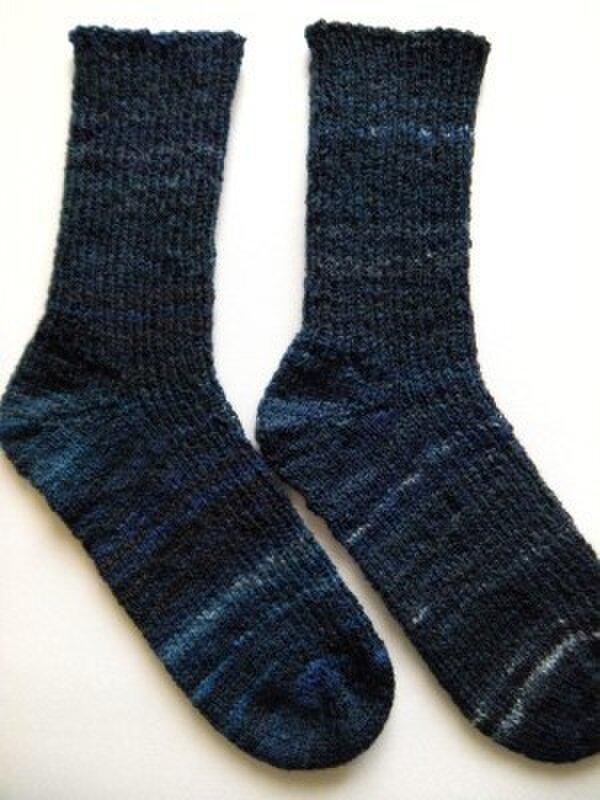 手編み靴下【クレイジー・ザウバー・ボール2147】の画像1枚目
