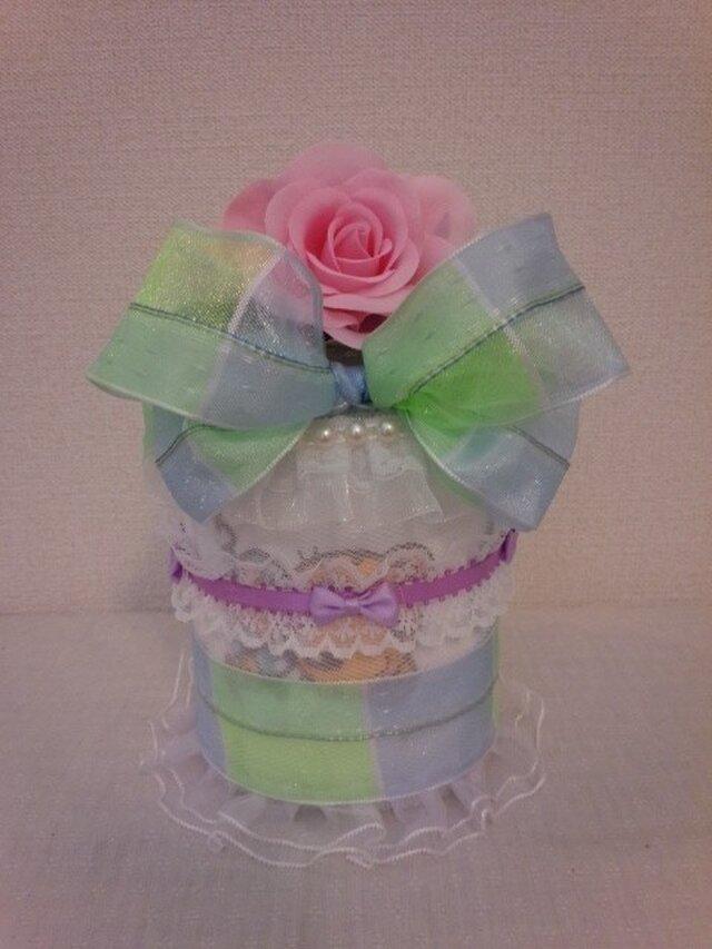 小さいおむつケーキの画像1枚目