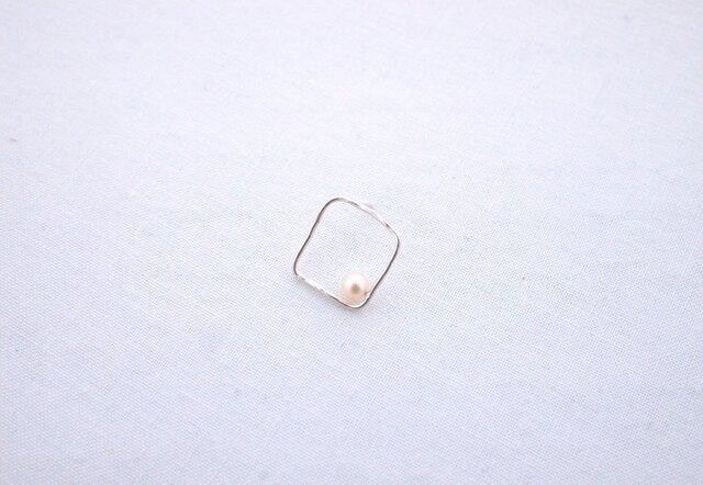 OEKAKI pierce/one side/SIKAKU①の画像1枚目