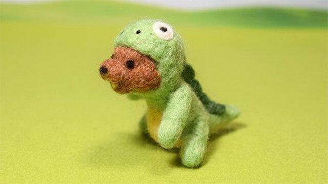 はちみつ求めて徘徊する はらぺこクマノザウルスの画像1枚目