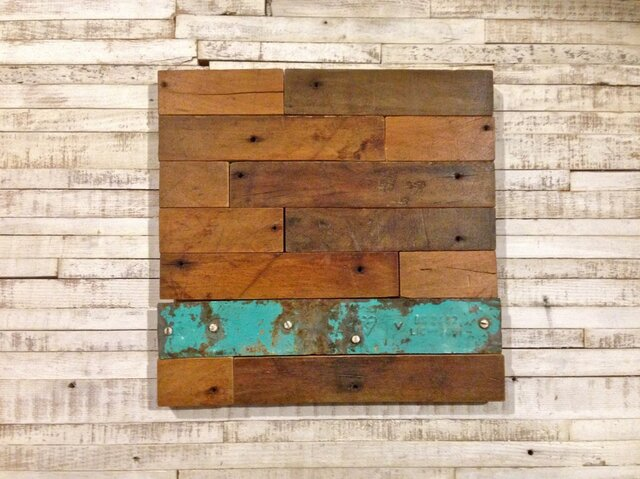 Wood Panel(old maple) GREENの画像1枚目