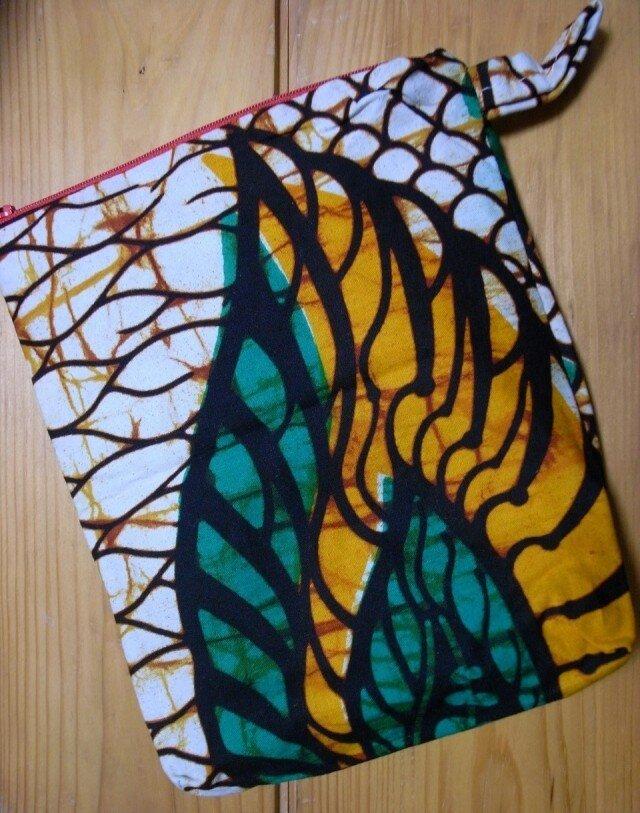 アフリカン カラフルポーチ petit sac(委託)の画像1枚目
