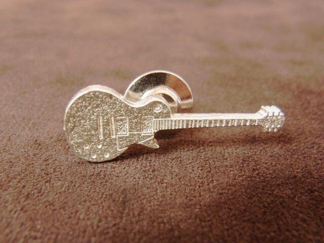 ギターのピンブローチ(レスポールタイプ)の画像1枚目