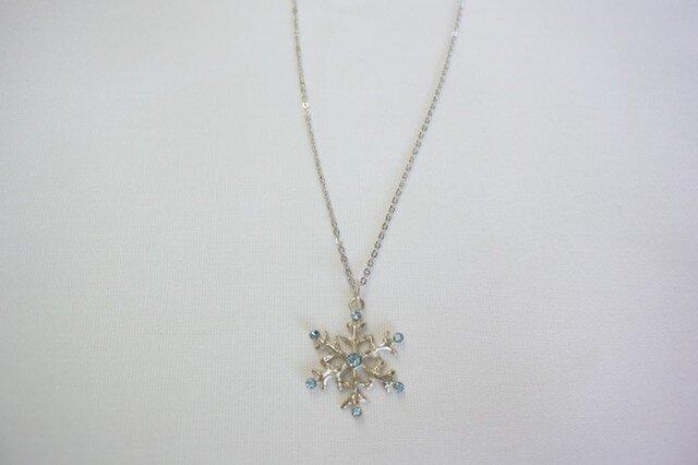 雪枝結晶のネックレスの画像1枚目