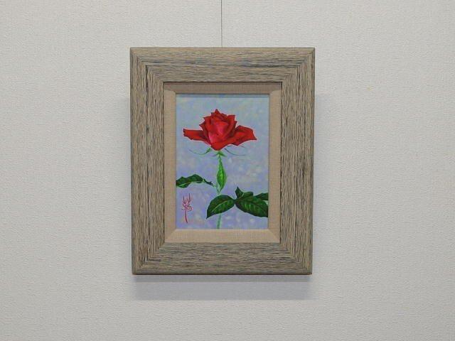 日本画 「薔薇」の画像1枚目