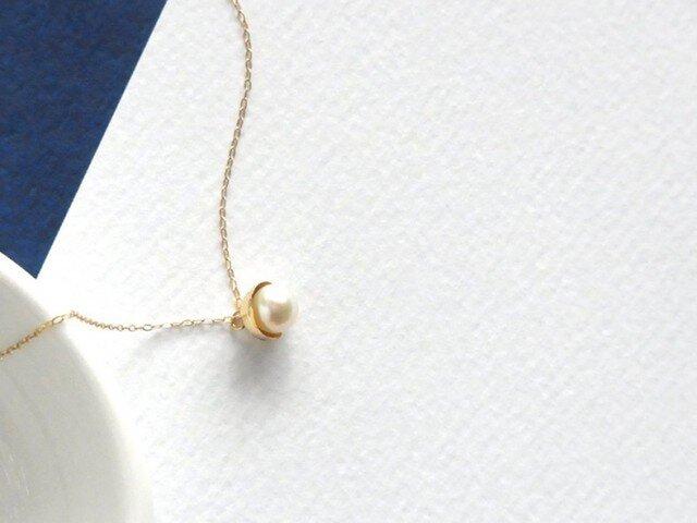 K18YG Juno パールネックレス -とろける美しさ-の画像1枚目