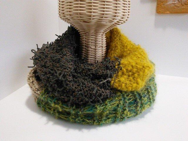 4種の毛糸のスヌード [m-001]の画像1枚目