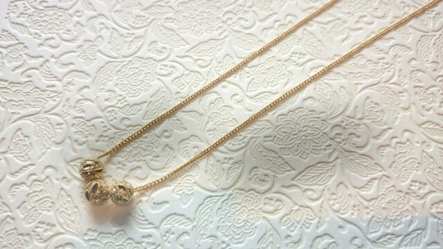 Simplicity -Necklace☆Stardustの画像1枚目