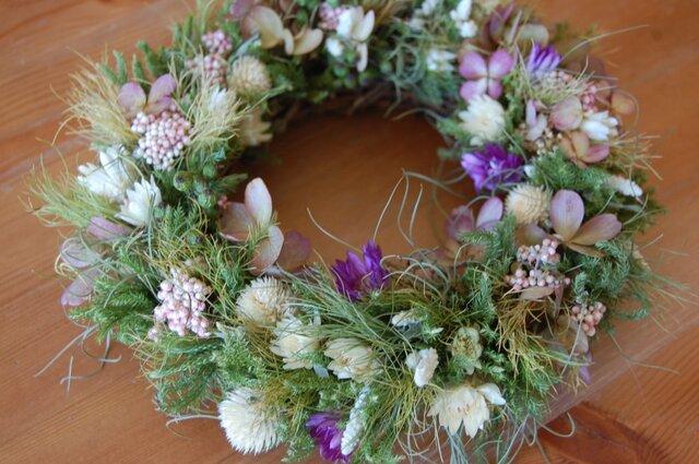 field (秋の草花)Wreathの画像1枚目