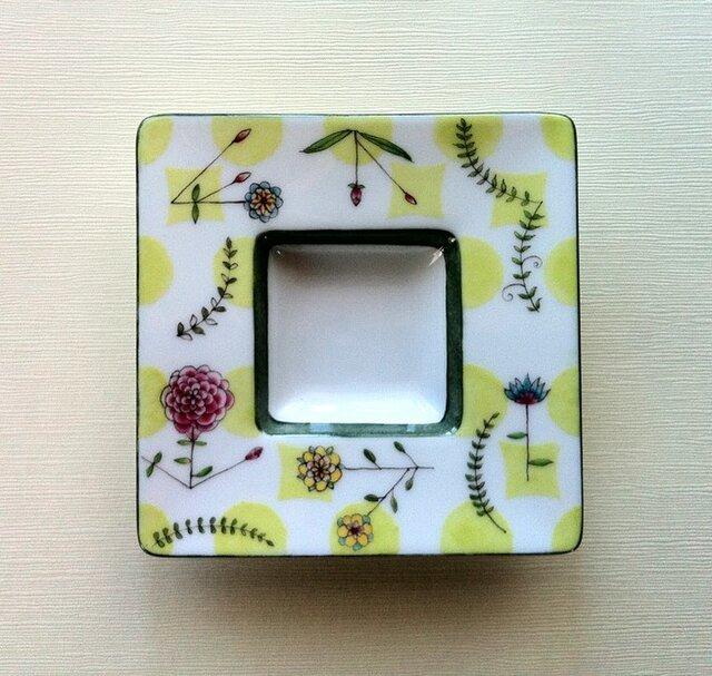 豆皿  【flowergarden】の画像1枚目