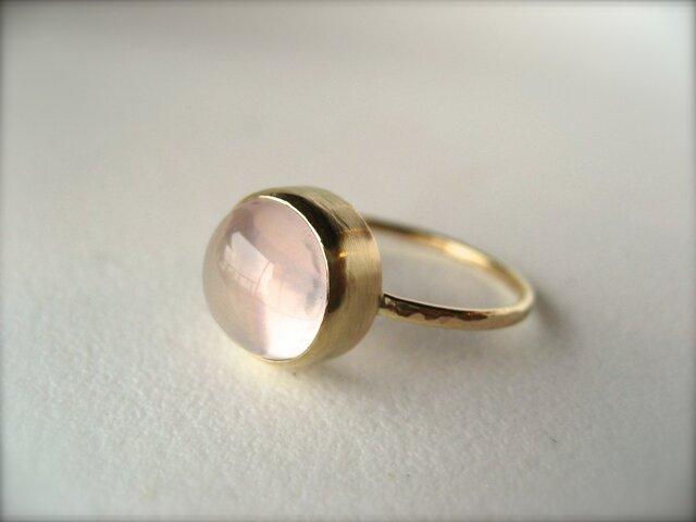Rose Quartz Ringの画像1枚目