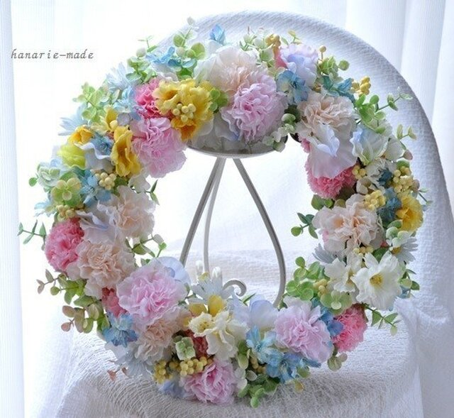 【sold】pastel color carnation  の画像1枚目