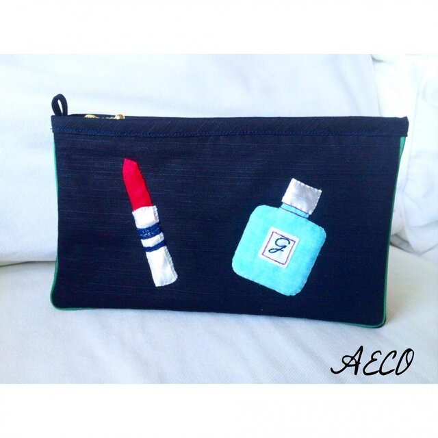 Lip&Perfume pouch LARGEの画像1枚目