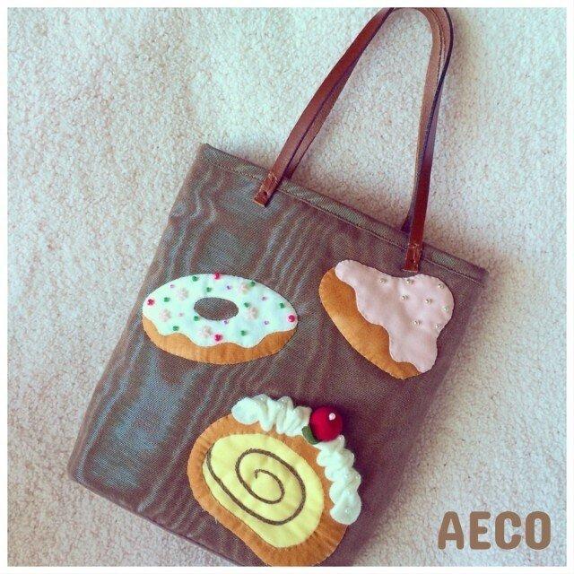 sale☆I ♥︎ cakes bagの画像1枚目