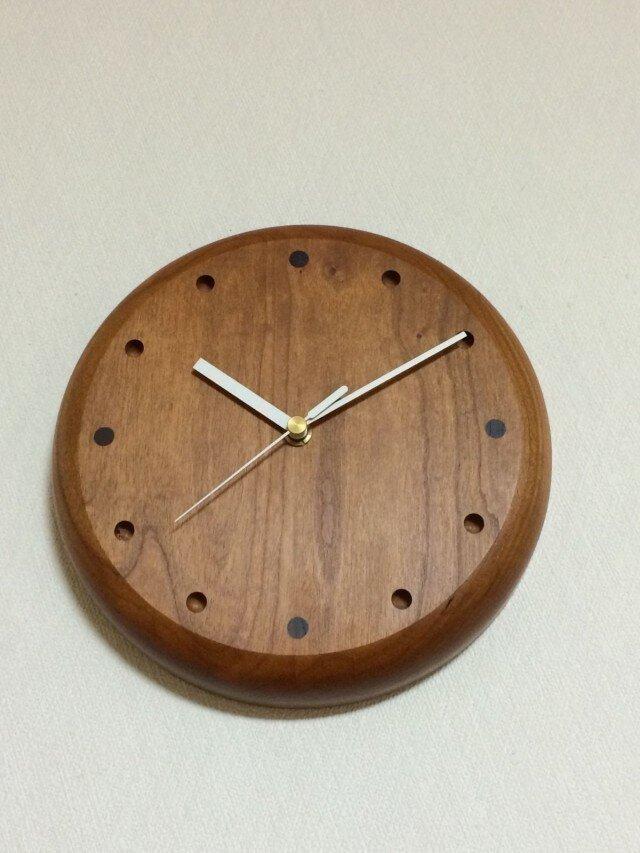 オーダー壁掛け時計(cherry)の画像1枚目