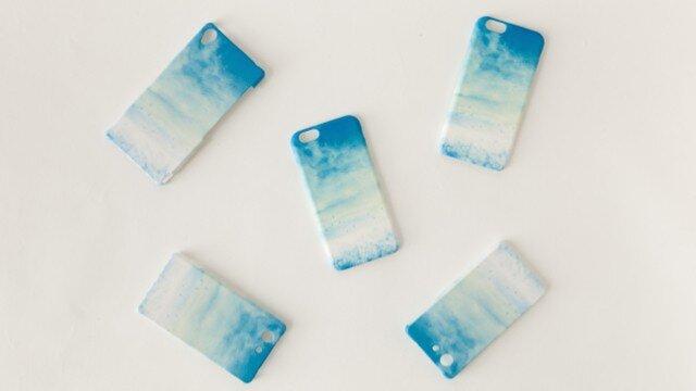 [受注制作] iPhone/Galaxy/Xperia Case「青い、空」の画像1枚目