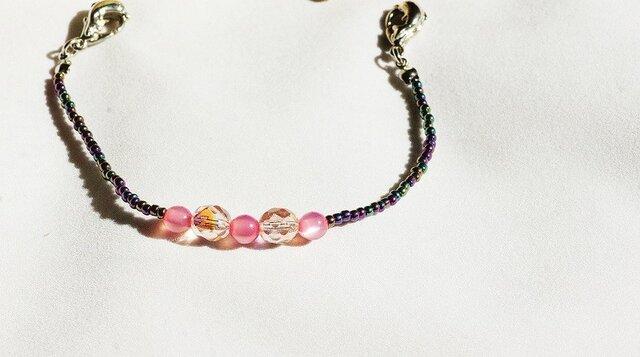 女性用羽織紐(ピンク)の画像1枚目