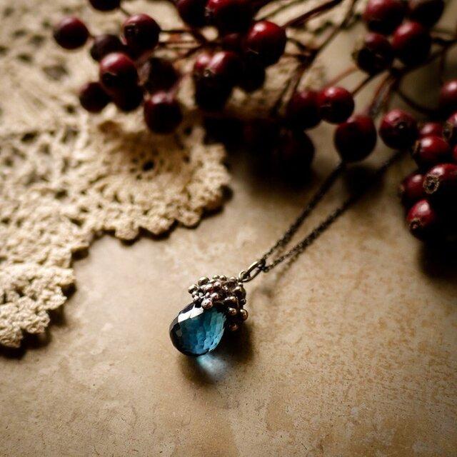 【Recolte -Blue Topaz】necklaceの画像1枚目