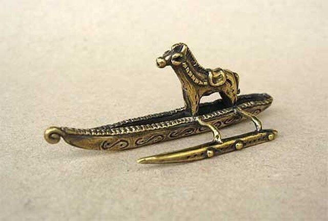 馬と舟の画像1枚目