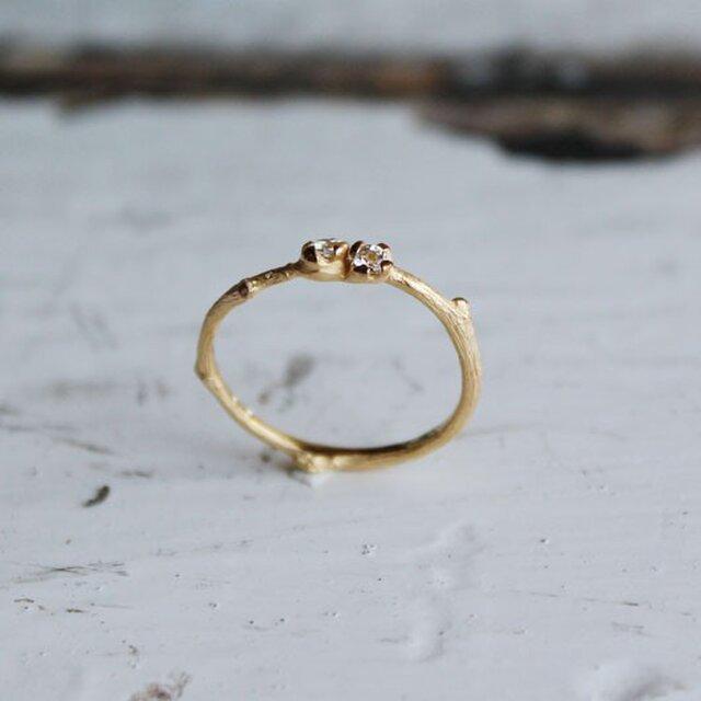 branche 小さい花のリングの画像1枚目