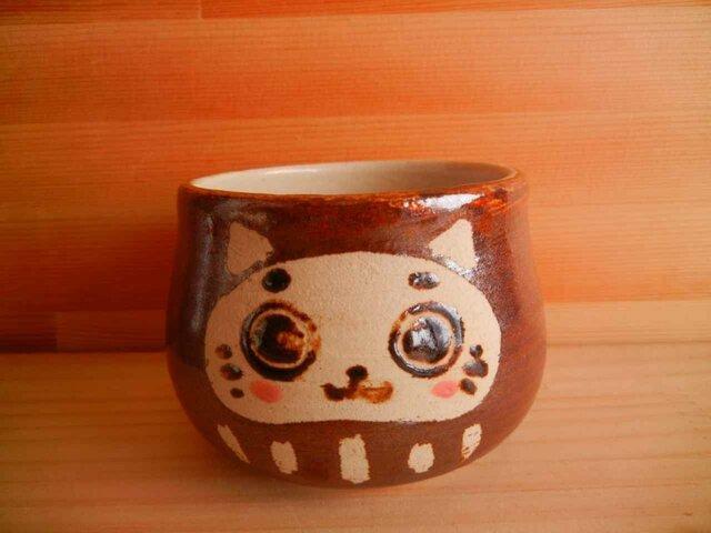 猫だるまカップ:3の画像1枚目