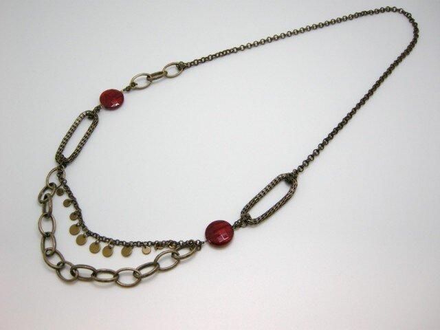 maru輪ネックレスの画像1枚目