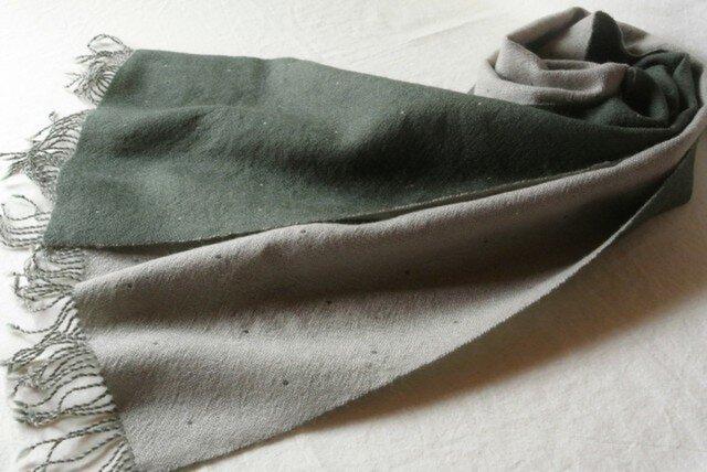 double cloth muffler #3の画像1枚目