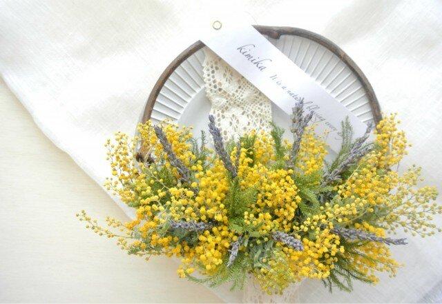hanging basket wreath.msの画像1枚目