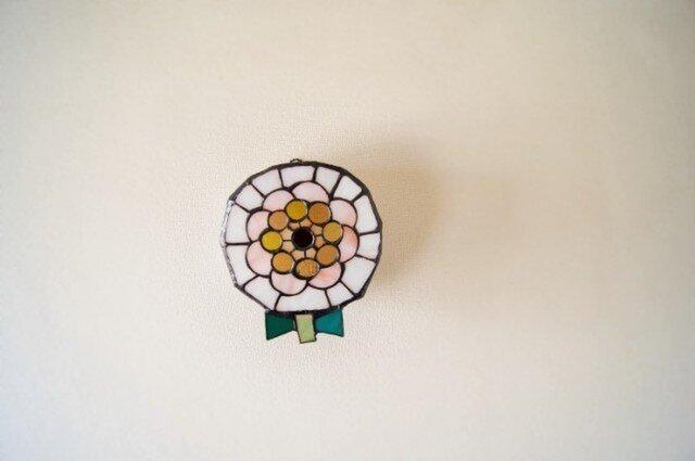 白い花 ランプの画像1枚目