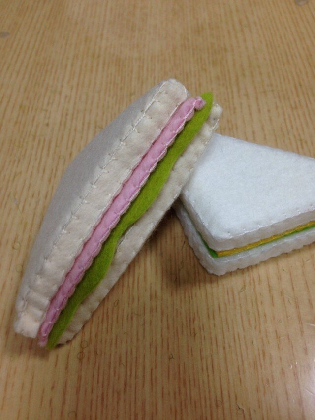 サンドイッチ ハム&レタス (カードスタンド)の画像1枚目