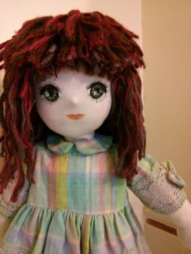 出来るだけ天然素材を使ったお人形 の画像1枚目